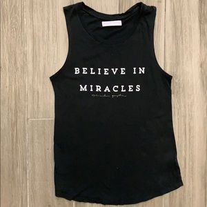 Spiritual Gangster Believe in Miracles Tank